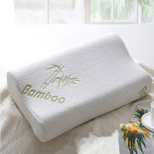 Высокая QualityBamboo волокна, подушка медленный отскок здравоохранения подушки пены памяти Memory Foam подушка Поддержка шеи Усталость помощи