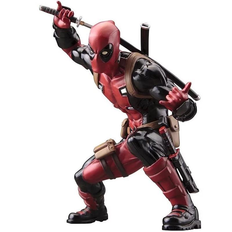 マーベル映画アニメ置物スーパーヒーローデッドプール ×男性pvc アクション フィギュア モデル ボックス おもちゃ 20 センチ 8\u0026quot;