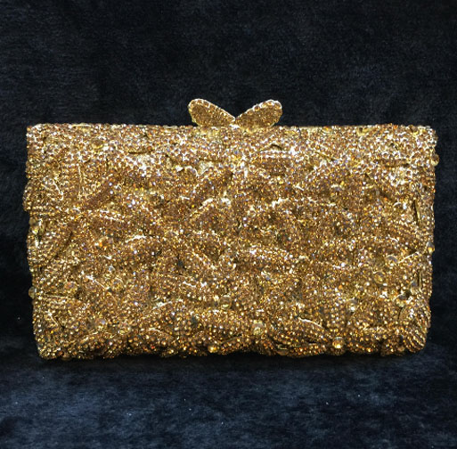 2017 Luxury Ladies Evening Hand Bag Women Diamond Beading Handmade Dinner Clutch Bridal Wedding Party Purse bolso Chain handbags