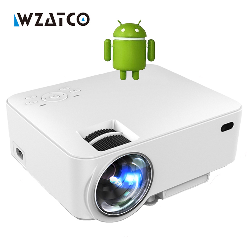 Buy ct100 hd led smart projector wifi for Mini projector price