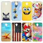 Newest Painted Alcatel One Touch Idol 2 Case for Alcatel One Touch Idol 2 6037 6037K 6037B 6037Y Cover Case Hard Plastic Cover