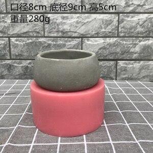 Image 4 - Molds for plaster pot ,concrete flower pot molds succulent plants pot molds