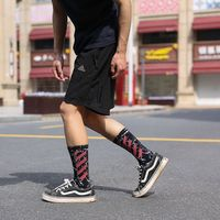 Harajuku Mens Tide Street Style Personality Hip hop Summer Black Long Canister High Waist Skate Cotton Fashion Man Socks 3 Pairs