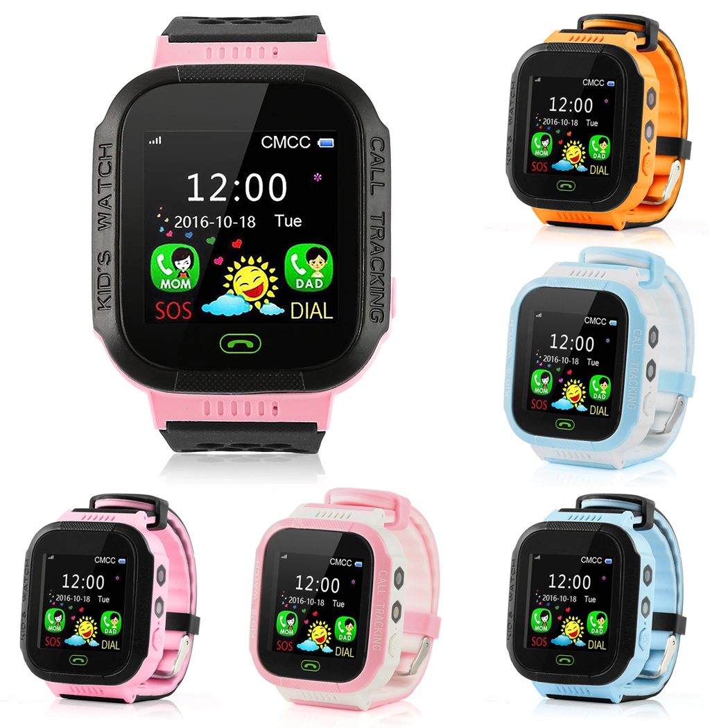 Y21 Baby Watch with Protective film Kid GPS Smart Watch Locator LBS SOS Call Flashlight SOS Call Location Device Tracker Safe