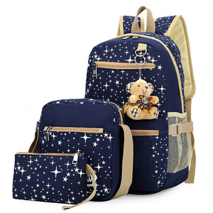 Image 4 - Kids SchoolBags Printing Backpack With Bear Children School Bags For Girl Cute Backpacks For Teenagers mochila infantil
