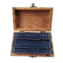 цены 70 Pcs/set Standard Cursive English Number&Letter Wood Stamp Set Wooden Rubber Stamps Box