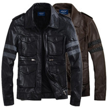 New arrival brand motorcycle leather jacket mens Fashion jackets masculina coats
