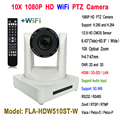 Белый цвет 10x Zoom 1080p full hd wifi 340 градусов вращение eagle eye веб-камера HDMI SDI интерфейс