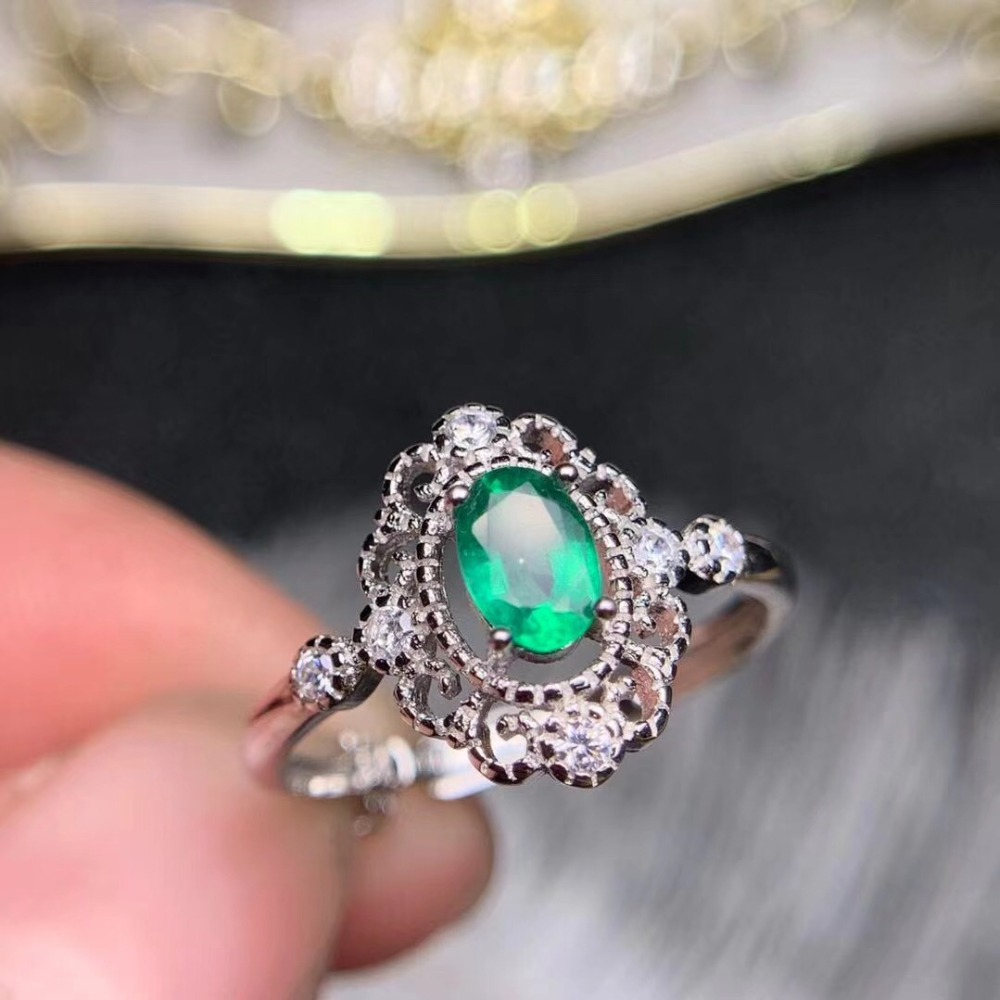 emerald ring Real And Natural emerald ring 925 sterling silver  Fine jewelry Gem For man or Wowenemerald ring Real And Natural emerald ring 925 sterling silver  Fine jewelry Gem For man or Wowen