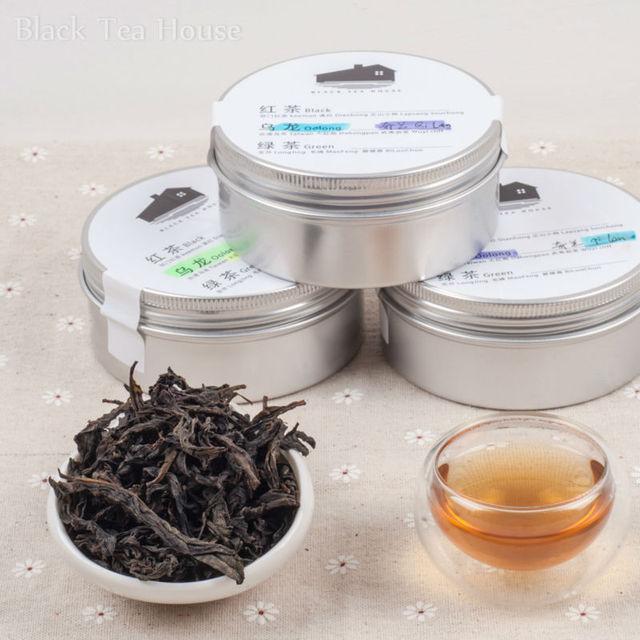 China Famous Wuyi Mountain Cliff  Oolong Tea Set,Da Hong Pao,ShuiXian,Qi Lan,Sample pack,Free Shipping