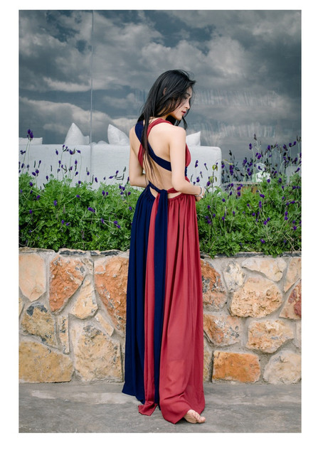 High Quality Explosions Leisure Vintage Dresses Women erogenous Spring summer Casual Beach  Dress 2