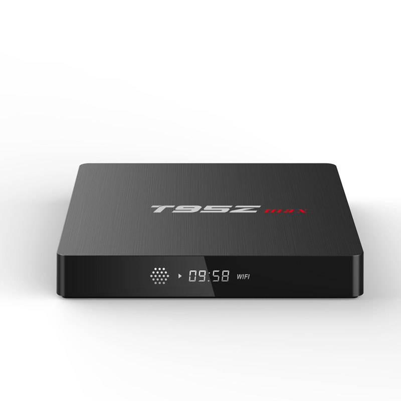 5PCS/LOT T95Z Max Smart TV BOX Android 7.1 Set Top Box 2GB RAM 16GB ROM Octa Core S912 2.4G/5G Dual WIFI HD 4K BT4 Media Player minix neo x8 plus android 4 4 tv box hd media streaming player 4k 2gb 16gb2 band wi fi bt4 0 w a2 lite keyboard air mouse