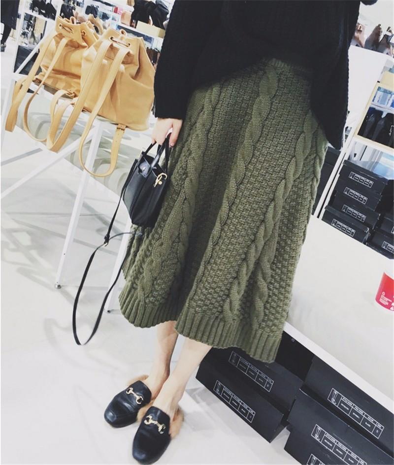 winter thick skirt 03