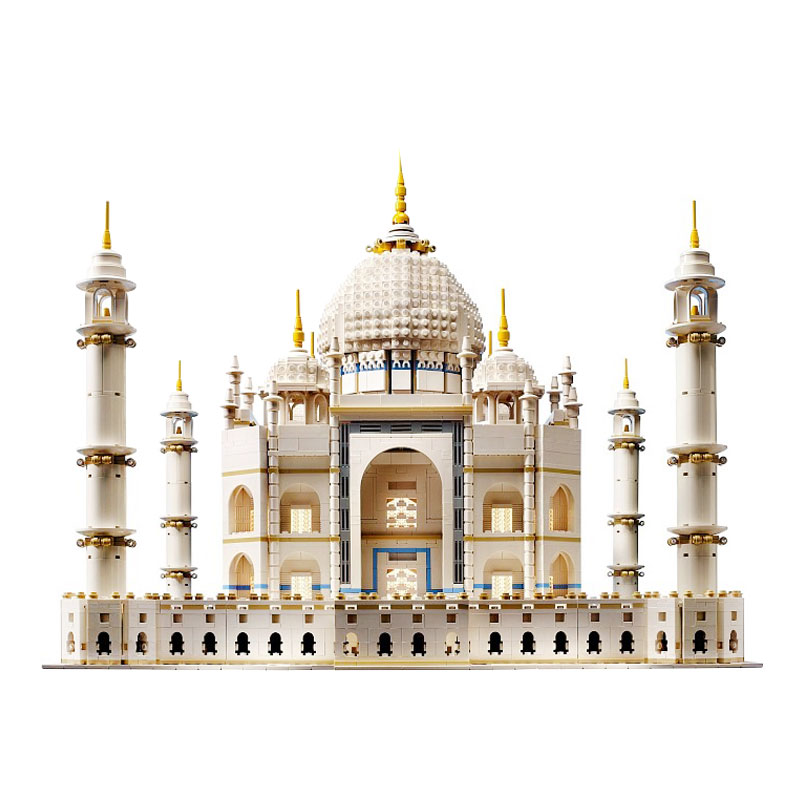 LEPIN 17001 5952pcs The Tai Mahal Model Building Kits Building Blocks Brick Funny Toys Compatible With 10189 Educational Gifts lepin17001 city street tai mahal model building blocks kids brick toys children christmas gift compatible 10189 educational toys