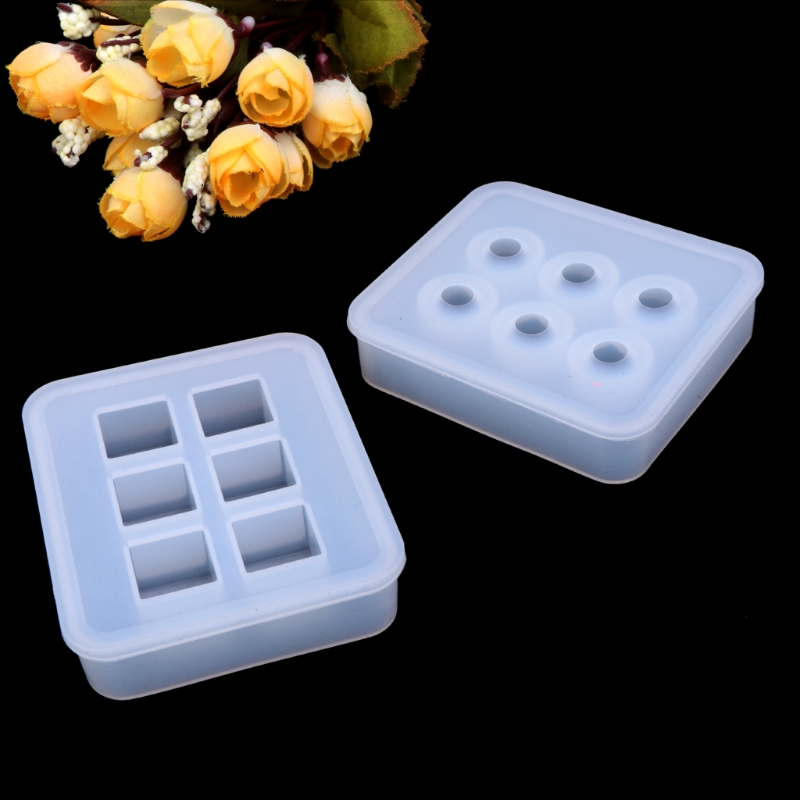 Silicone Pendant Mold Making Jewelry For Resin Necklace Mould Craft Tools DIY