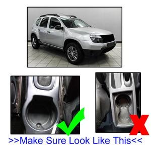 Image 3 - Armlehne Für Renault Dacia Duster ICH 2010 2015 Arm Rest Drehbare Lagerung Box Dekoration Auto Styling 2011 2012