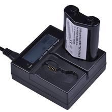 Batterie ENEL4a 1x3000mAh EN-EL4 EN EL4 EN-EL4a Akku + LCD, chargeur rapide pour appareil photo Nikon D2H D2Hs D2X D2Xs D3 D3S F6 MH-21