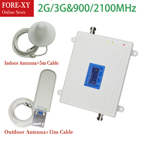 2G 3G home use Dual band repeater 900 2100mhz cellular signal booster GSM wcdma / umts network booster signal enhancer repeater