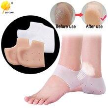 Детский жилет из новых поступлений, забота о ногах, Носки 1 пара =, 2 предмета силиконовой Увлажняющие гелевые пяточные Носки ног от трещин средство для защиты и уходу за кожей против трещин