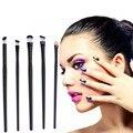 5 unids/set Profesional Sombra de Ojos Cepillo Cosmético Pinceles de Maquillaje Herramienta de Alta Calidad