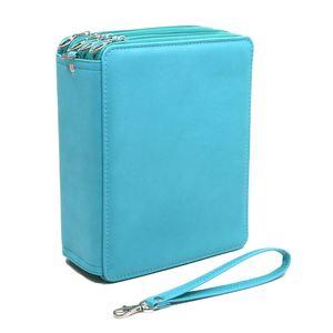 Image 4 - 168 Slots Super Large Capacity Pen Bag with Zipper Strap for Prismacolor Watercolor Pencils, Colored Pencils, Marco Pe