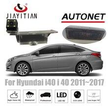 Câmera de Visão Traseira Para Hyundai i40 JiaYiTian Sedan 2011 ~ 2017 CCD Night Vision camera Reverso Backup Câmera de Estacionamento Assistência