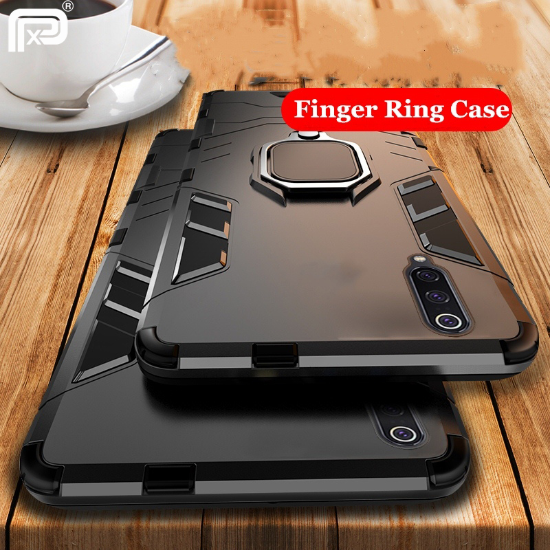 For Samsung Galaxy A50 Case Ring Holder Armor Bumper Back Cover For Samsung Galaxy A30 A50 Phone Case Finger Ring Fundas samsung