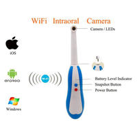 (1 Set) WiFi Intraoral 960P Camera with 150X Magnification & 360 Degree Rotation Free App for Android/iOS/Windows System IP67
