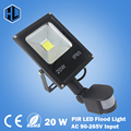 Excellent quality! 85-265V 10W 20W 30W 50W led flood light led lamp black shell PIR Motion sensor Induction Sensor Floodlight