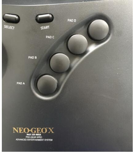 NEOGEO X Arcade Stick, 15Pin Arcade Stick for NEOGEO AES/CD Console