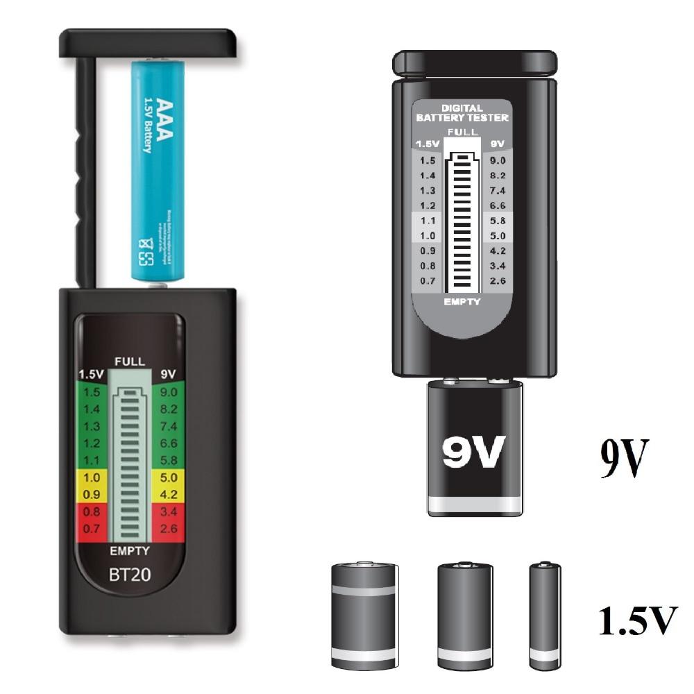 Tester di batteria digitale domestica ALL SUN BT20 vendita calda 1.5V - Strumenti di misura - Fotografia 2