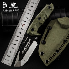 HX OUTDOORS Mini Mercenaries D2 Steel Fixed Blade Knife G10 Handle Utility Outdoor Knives With Kydex Camping Hunting EDC Knife аверченко а т новая история юмористические рассказы