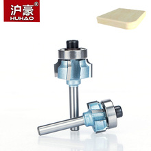 HUHAO 1pc 1 4 Woodworking Bit With Bearings CNC Tool Four Teeth Trimming Milling Cutter font