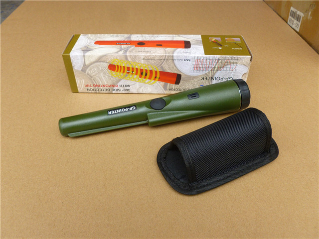 2017 New Arrival Handheld Metal Detector Handhedl GP-Pointer PRO POINTER Orange/Army Green/Black Three Colors
