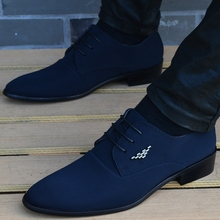 italian mens shoes fashion black Canvas moccasin pointed toe classic men wedding sapatos masculino