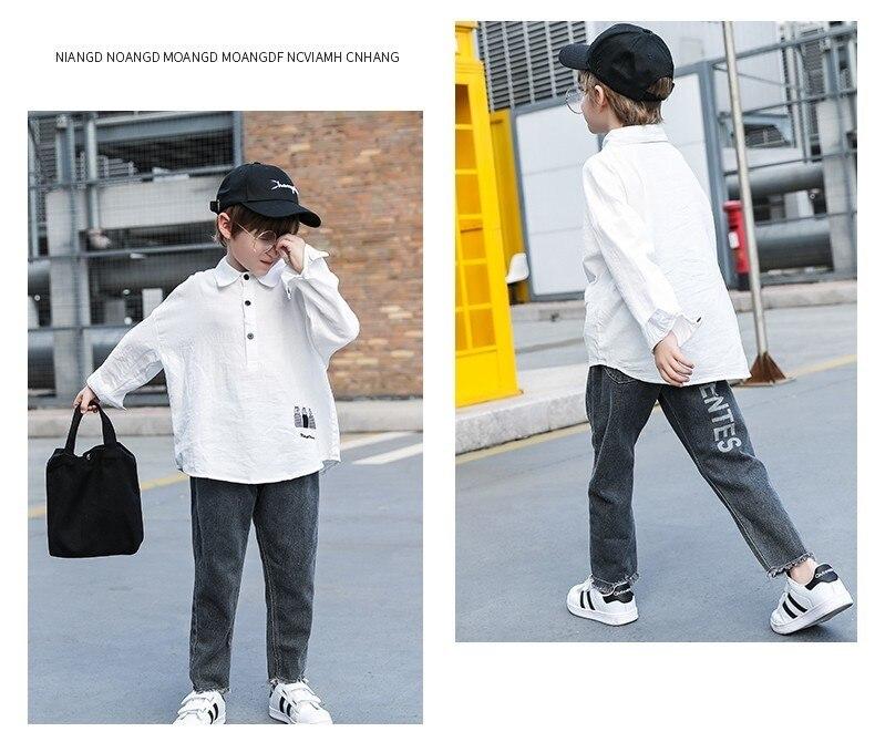 2019 meninos roupas definir moda de manga