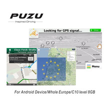 Europe GPS MAP with 8G SD card Russia Spain France Germany Italy UK whole Europe countries