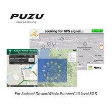 Европа GPS карта с 8 г SD карты Россия/Испания/Франция/Германия/Италия/UK/ Весь стран Европы для устройства на базе Android автомобильный навигатор