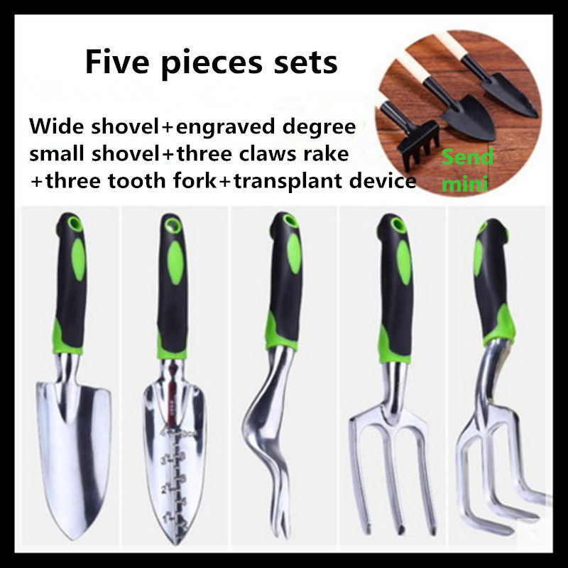 Garden tools gardening tools garden tools (five pieces sets)