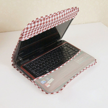 Plaid Pattern Computer Dustproof Cover Reusable Dust Proof Computer Cover For 14 Inch Laptop