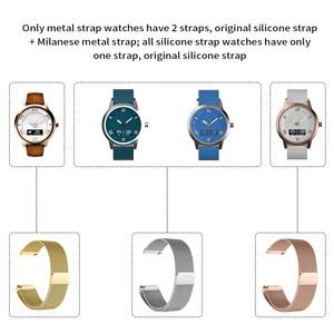 Image 5 - Lenovo שעון X בתוספת חכם שעון Bluetooth 5.0 ספורט גרסה Smartwatch OLED מסך שכבה כפולה סיליקון רצועת שעוני יד