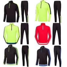 Для взрослых и детей футбольный тренировочный костюм баскетбольная куртка Для мужчин Для женщин для маленьких мальчиков свитера для футбола униформа для футбольной команды наборы для ухода за кожей куртка брюки 2001