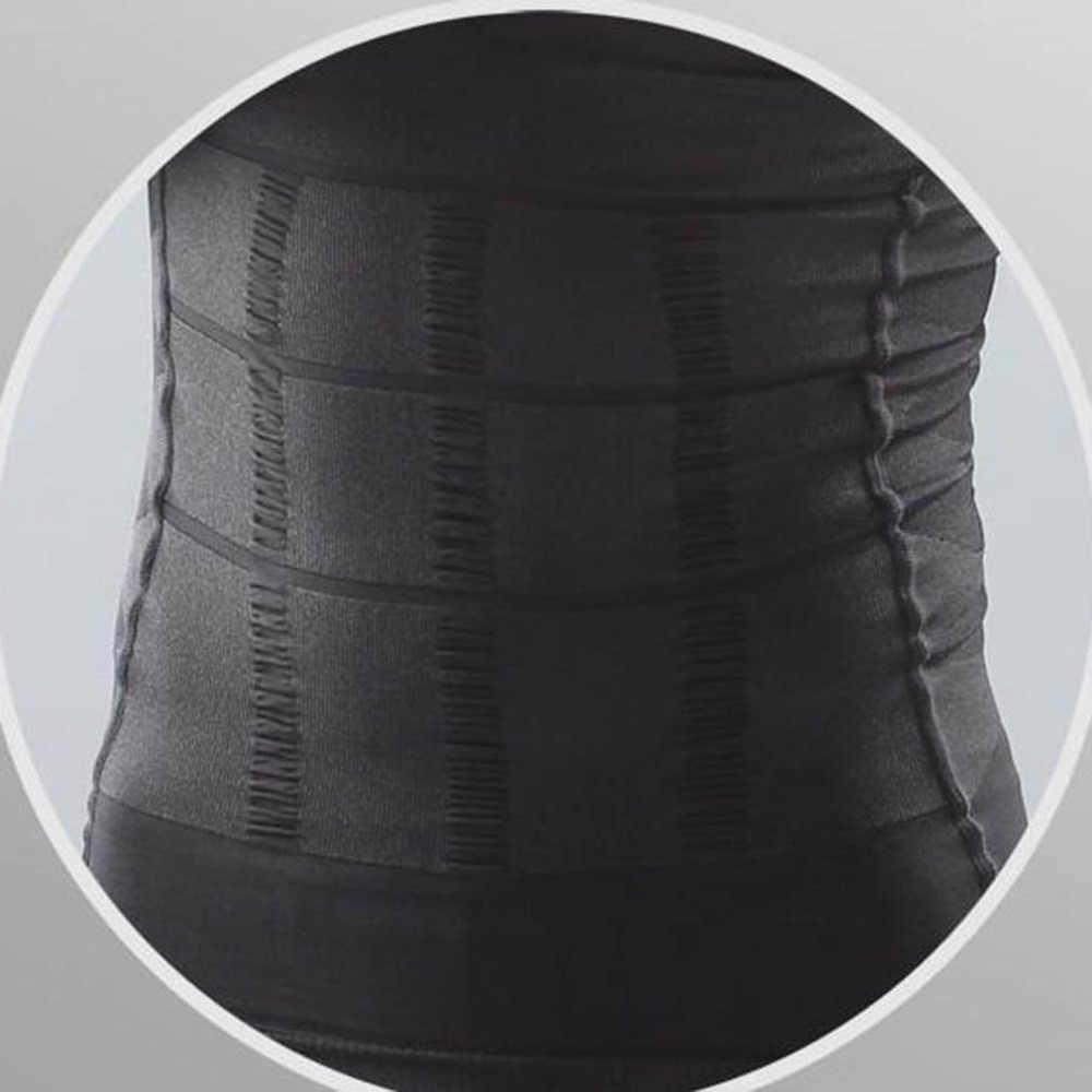 2019 Mannen Afslanken Body Shaper Tummy Shapewear Vetverbranding Vest Modellering Ondergoed Corset Taille Trainer Spier Gordel Shirt