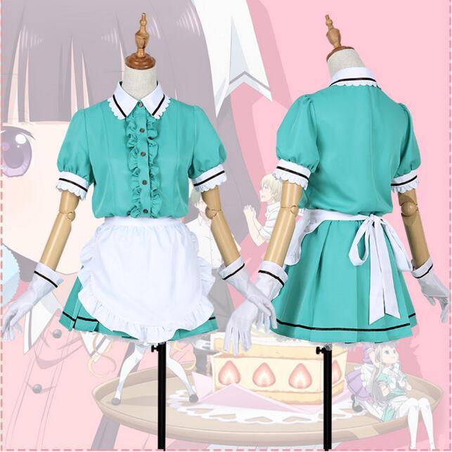 Anime Blend S Cosplay Costume Hinata Kaho Hideri Kanzaki Maika ... 6e7c62f6b9f2