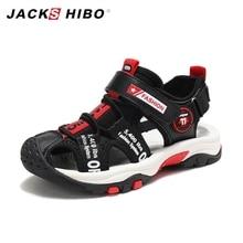 JACKSHIBO Kids Sandals Toddler Shoes Closed Toe Children Beach Water Arch Support Sport Lightweight Boy Sandalia