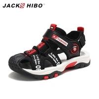 JACKSHIBO Kids Sandals Toddler Shoes Closed Toe Children Beach Water Sandals Arch Support Sport Sandals Lightweight Boy Sandalia