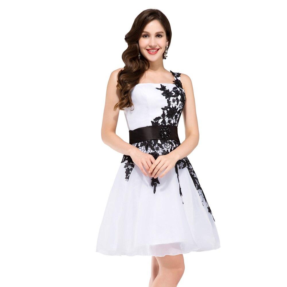 buy grace karin one shoulder appliques cocktail party dress short white lace. Black Bedroom Furniture Sets. Home Design Ideas