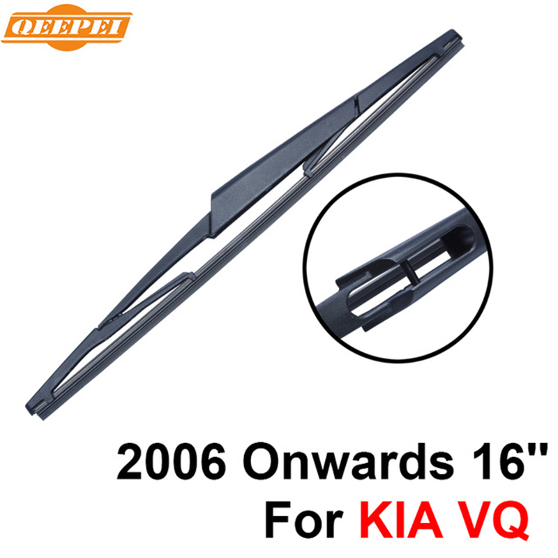 Glasses & Windows Alert Qeepei Rear Windscreen Wiper No Arm For Kia Vq 2006 Onwards 16 4 Door Minivan High Quality Iso9000 Natural Rubber C9-41 High Safety