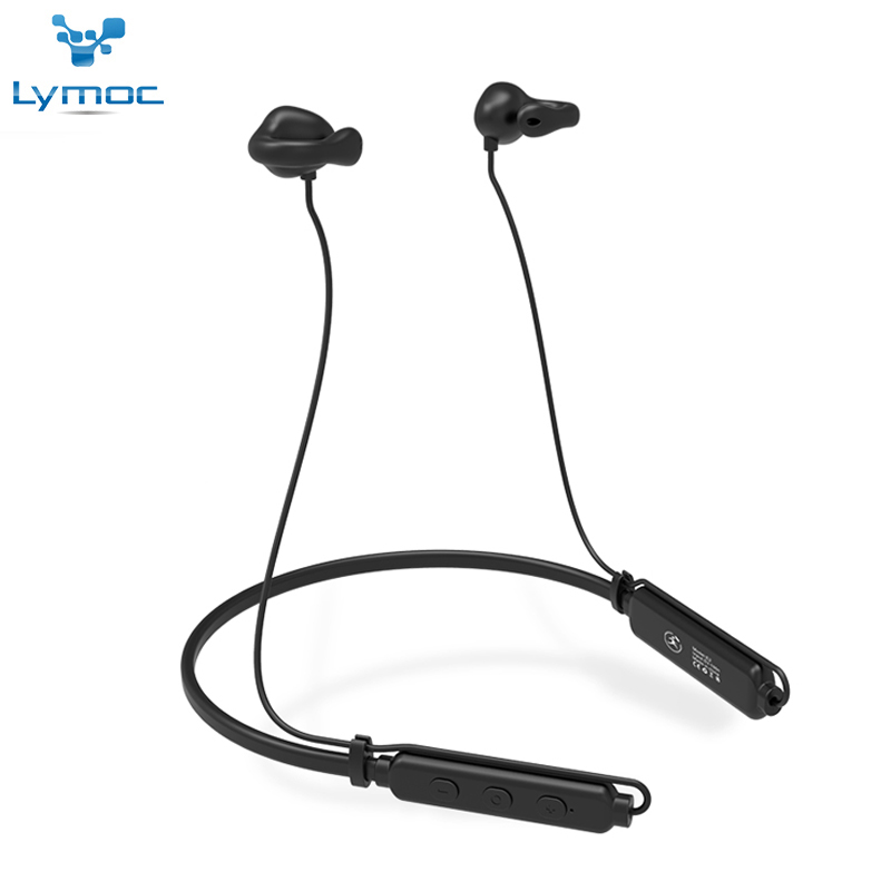 LYMOC E2 NEW Air Conduction Bluetooth Headsets Sport Wireless Clip Ear Bone Earphone Headphone With HD Mic for IOS Android Phone wireless bluetooth earphone with mic face mask anti dust stereo music handfree headset bone conduction headphone for ios android