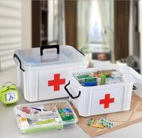 Huishoudelijke Geneeskunde Opslag Multi-purpose Opbergdoos Eerste Medische Opbergdoos Gezondheidszorg Grote Capaciteit
